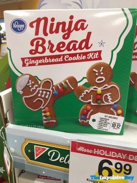 Kroger Ninja Bread Gingerbreak Cookie Kit