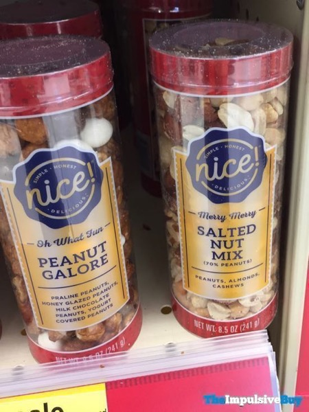 Nice Oh What Fun Peanut Galore and Merry Merry Salted Nut Mix