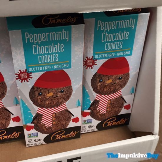 Pamela s Limited Edition Pepperminty Chocolate Cookies