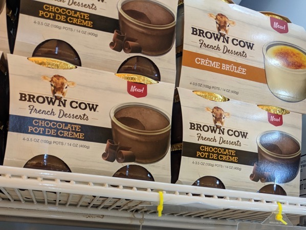Brown Cow French Desserts Chocolate Pot De Creme