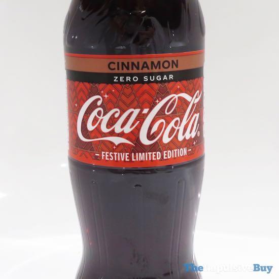 Coca-Cola Zero Sugar Cinnamon 2