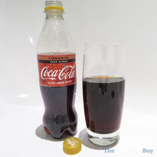 Coca-Cola Zero Sugar Cinnamon 3