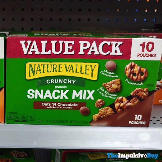 Nature Valley Crunchy Granola Snack Mix Oats  N Chocolate