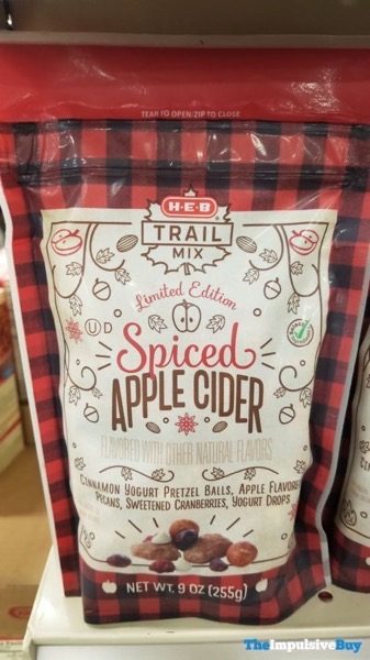 H E B Limited Edition Spiced Apple Cider Trail Mix