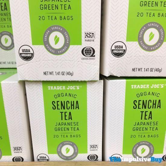 Trader Joe s Organic Sencha Tea Bags