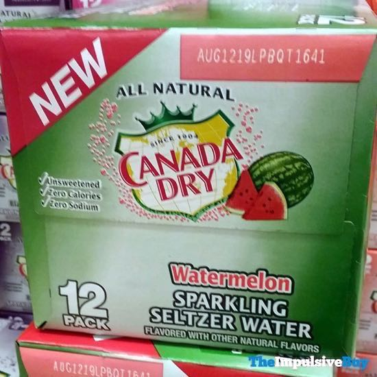 Canada Dry Watermelon Sparkling Water