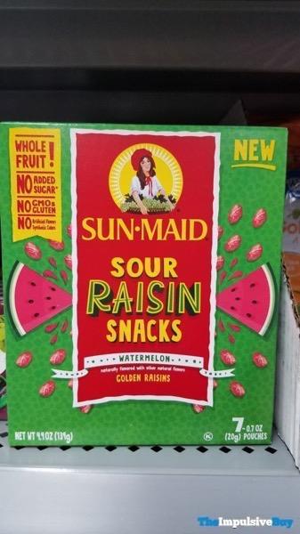 Sun Maid Watermelon Sour Raisin Snacks