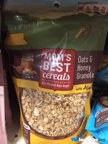 Mom s Best Cereals Oats  Honey Granola with Almonds