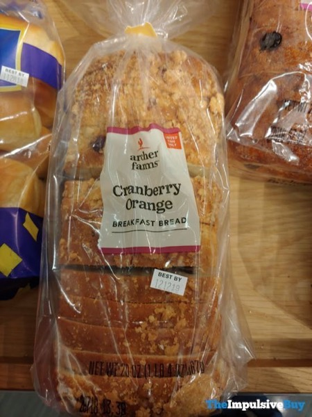 Archer Farms Cranberry Orange Breakfast Bread