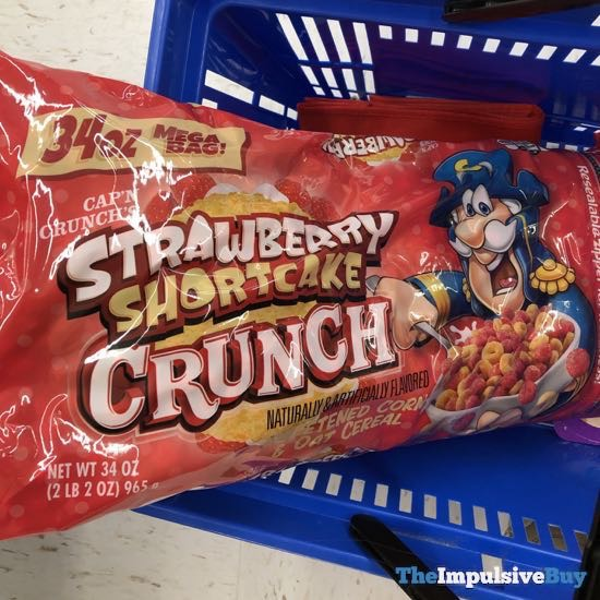 Cap n Crunch s Strawberry Shortcake Crunch Cereal