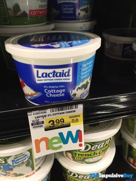 Lactaid 4 Cottage Cheese