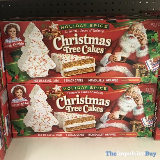 Little Debbie Holiday Spice Christmas Tree Cakes