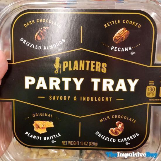 Planters Savory  Indulgent Party Tray