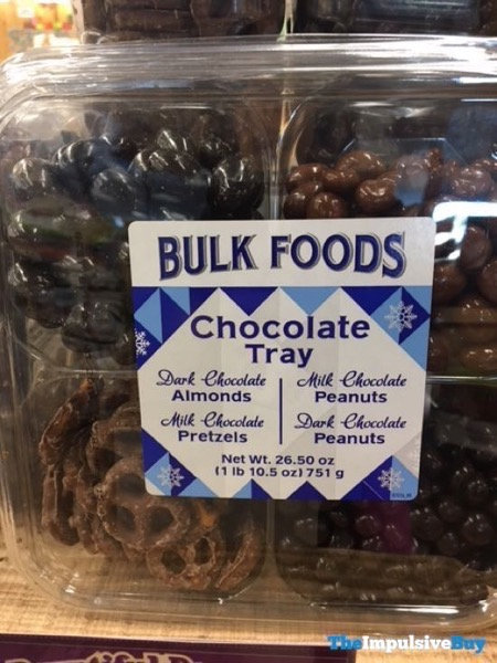 Sprouts Bulk Foods Chocolate Tray