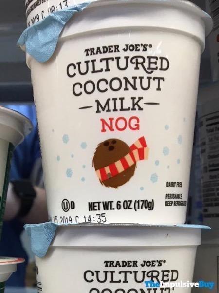Trader Joe s Cultured Coconut Milk Nog