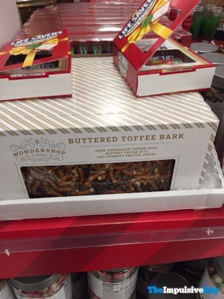 Wondershop at Target Buttered Toffee Bark