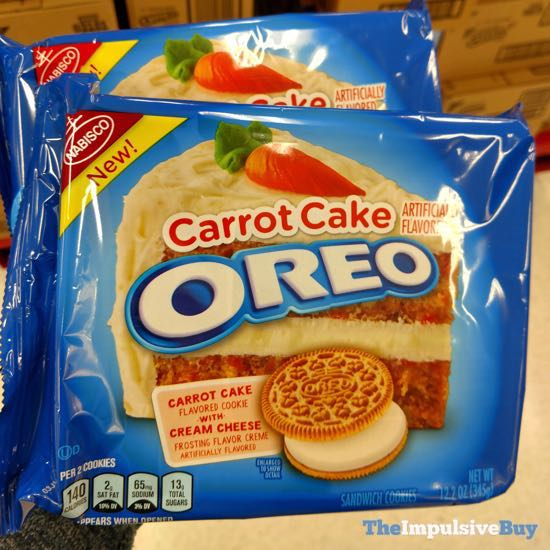 Spotted Carrot Cake Oreo Cookies The Impulsive Buy