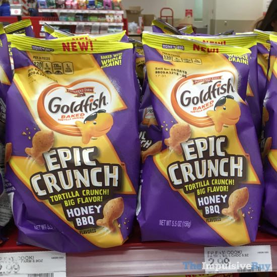 Pepperidge Farm Goldfish Epic Crunch Honey BBQ
