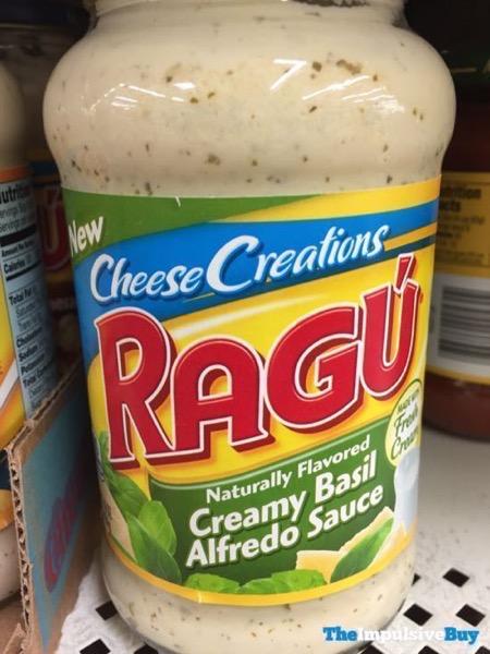 Ragu Cheese Creations Creamy Basil Alfredo Sauce