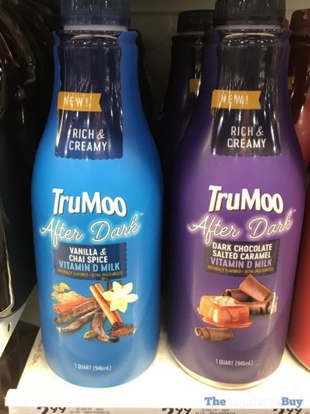 TruMoo After Dark Milk  Vanilla  Chai Spice and Dark Chocolate Salted Caramel
