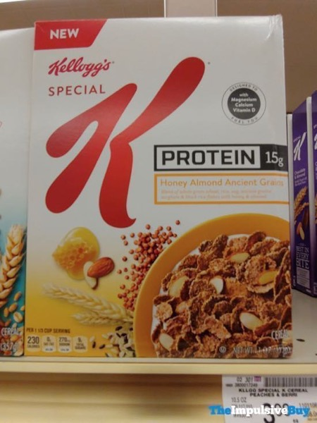Kellogg s Special K Honey Almond Ancient Grains Protein Cereal