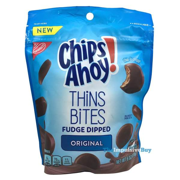Chips Ahoy Fudge Dipped Thins Bites
