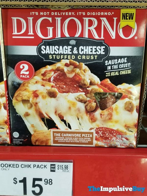 DiGiorno Sausage  Cheese Stuffed Crust