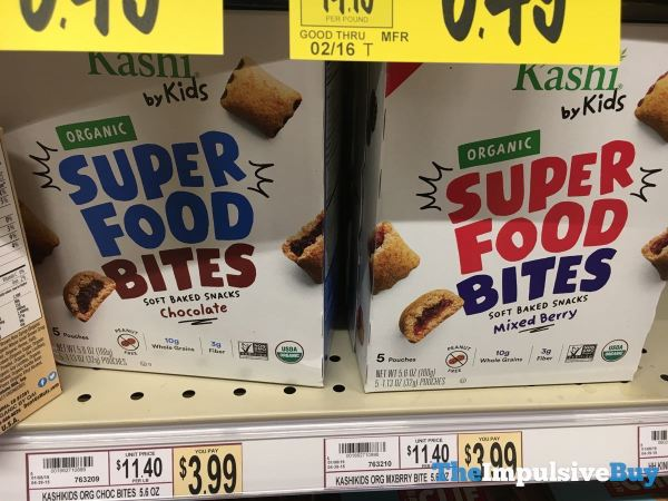 Kashi by Kids Organic Super Food Bites  Chocolate and Mixed Berry