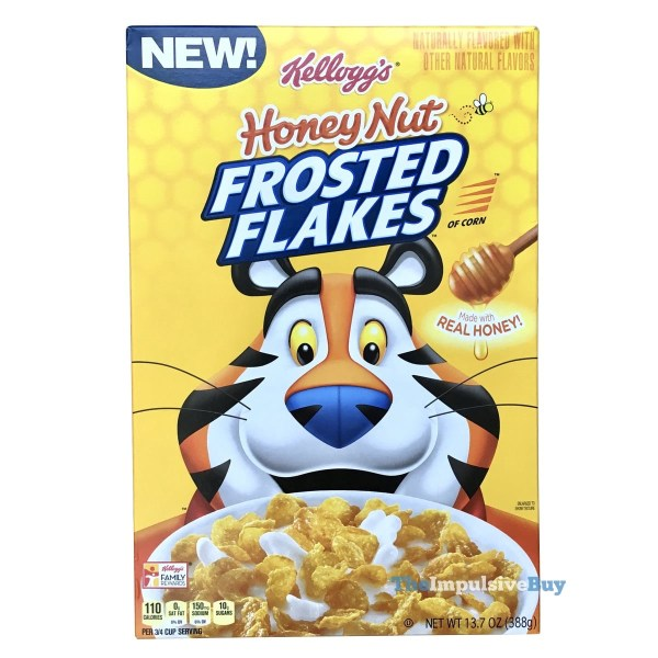 Kellogg s Honey Nut Frosted Flakes Cereal