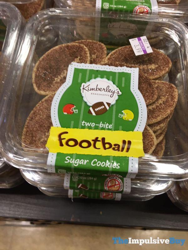 Kimberley s Bakeshoppe Two Bite Football Sugar Cookies