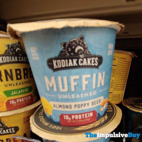 Kodiak Cakes Almond Poppy Seed Muffin Unleashed