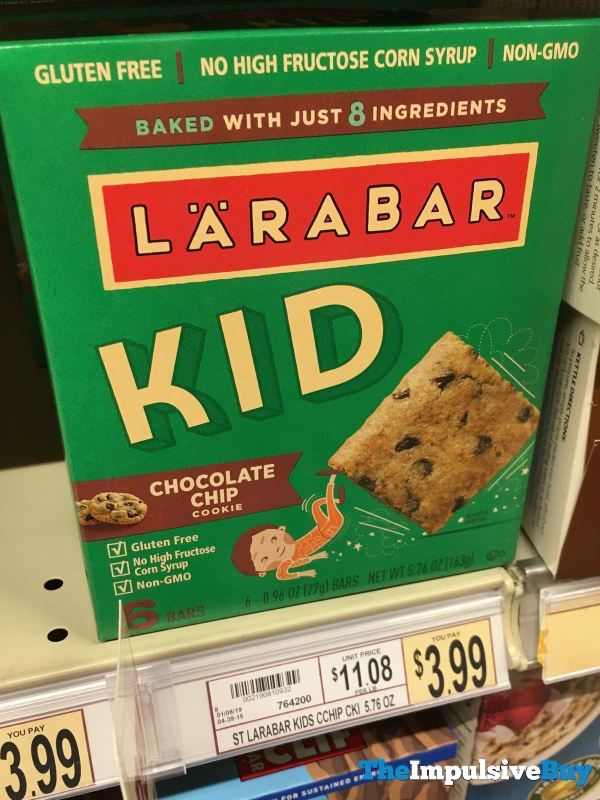 Larabar Kid Chocolate Chip Cookie
