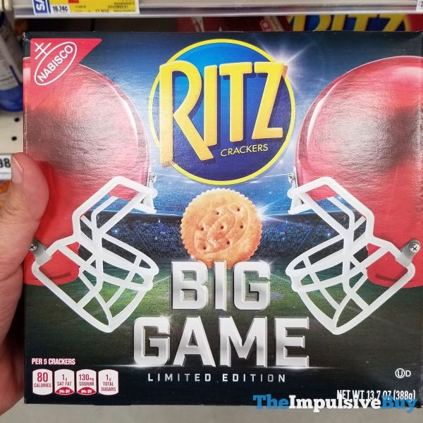 Limited Edition Big Game Ritz Crackers