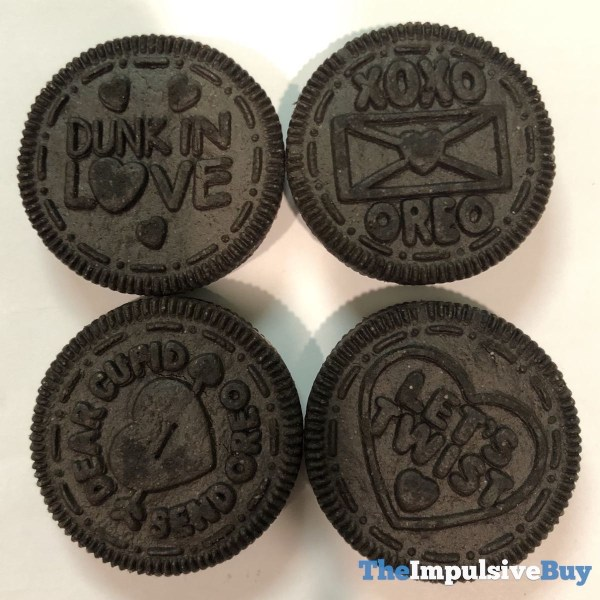 Limited Edition Love Oreo Cookies Wafer Designs