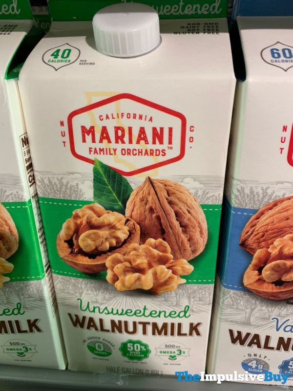 Mariani Unsweetened Walnutmilk
