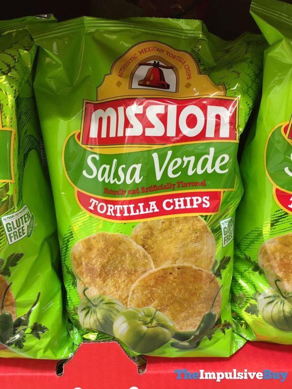 Mission Salsa Verde Tortilla Chips