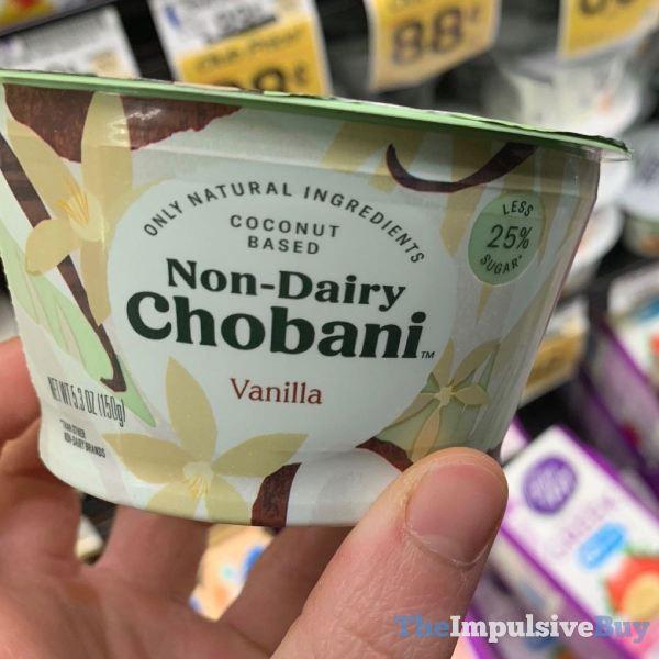 Non Dairy Chobani Vanilla