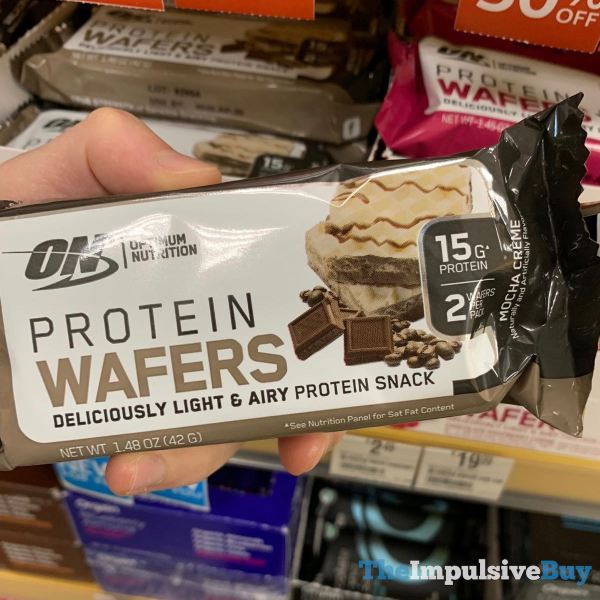 Optimum Nutrition Mocha Creme Protein Wafers
