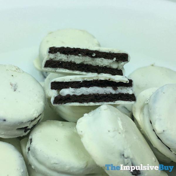Oreo Thins Bites White Fudge Dipped Original Middle