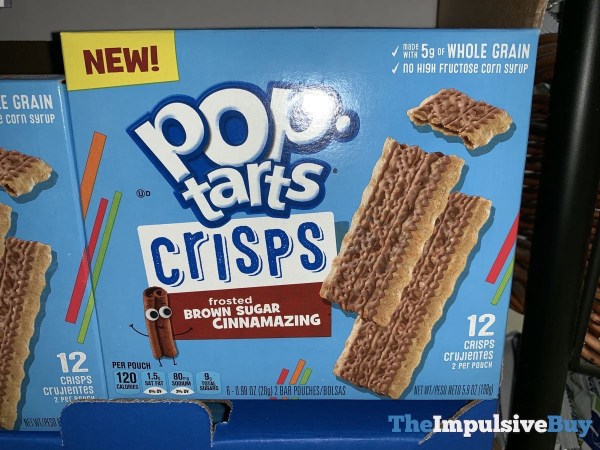 Pop Tarts Crisps Frosted Brown Sugar Cinnamazing