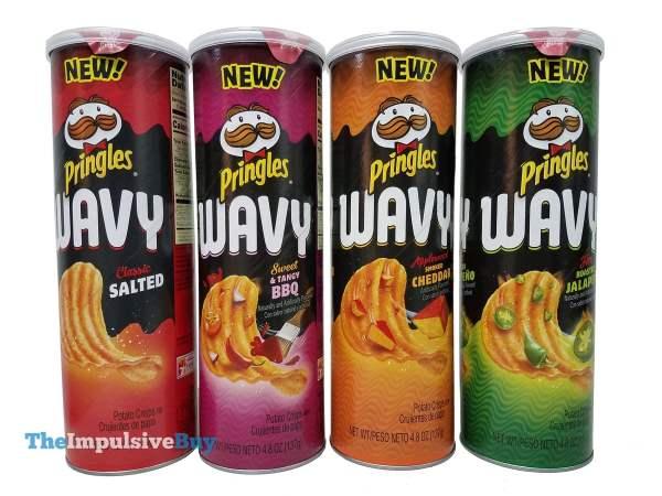 Pringles Wavy Crisps