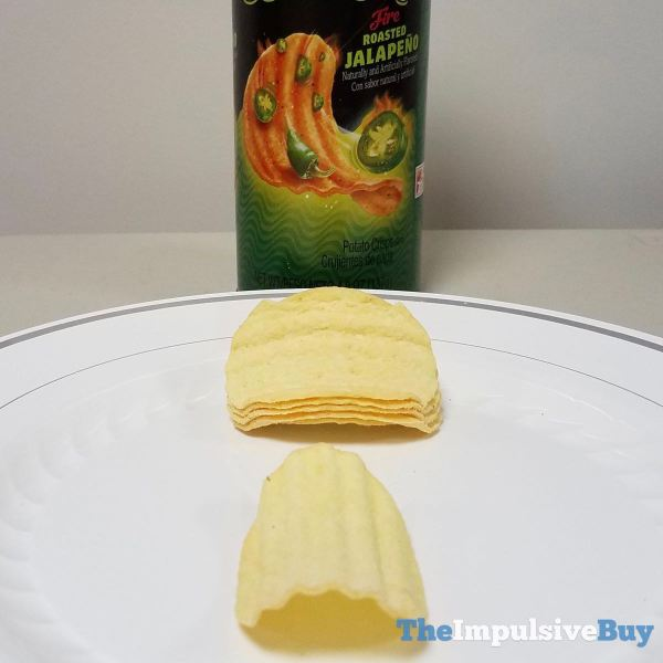 Pringles Wavy Fire Roasted Jalapeno Crisps