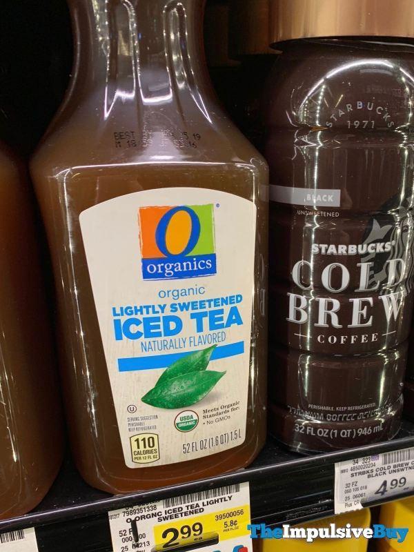 Safeway Organics Lightly Sweetened Iced Tea