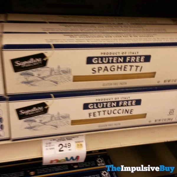 Safeway Signature Select Gluten Free Spaghetti and Fettuccine