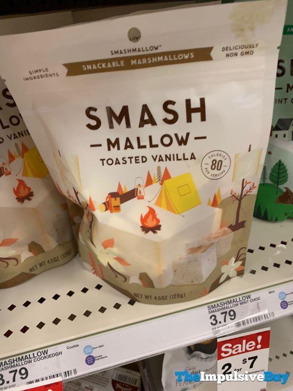 Smashmallow Toasted Vanilla Marshmallows