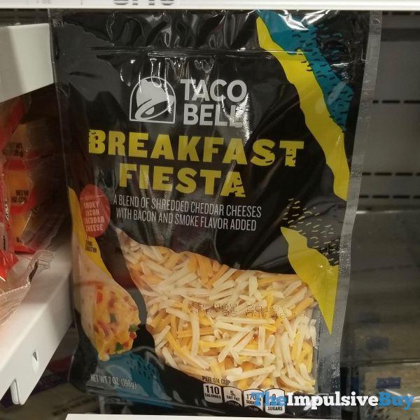 Taco Bell Breakfast Fiesta Shredded Cheese