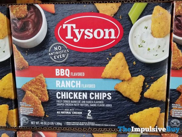 Tyson BBQ and Ranch Flavored Chicken Chips