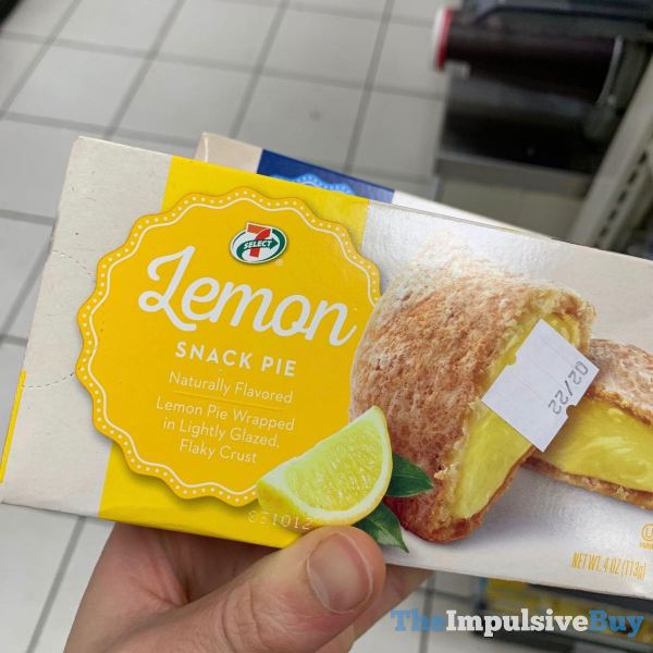 7 Select Lemon Snack Pie