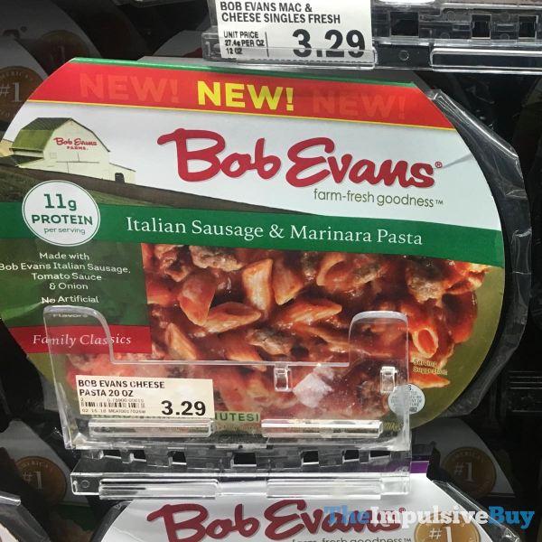 Bob Evans Italian Sausage  Marinara Pasta