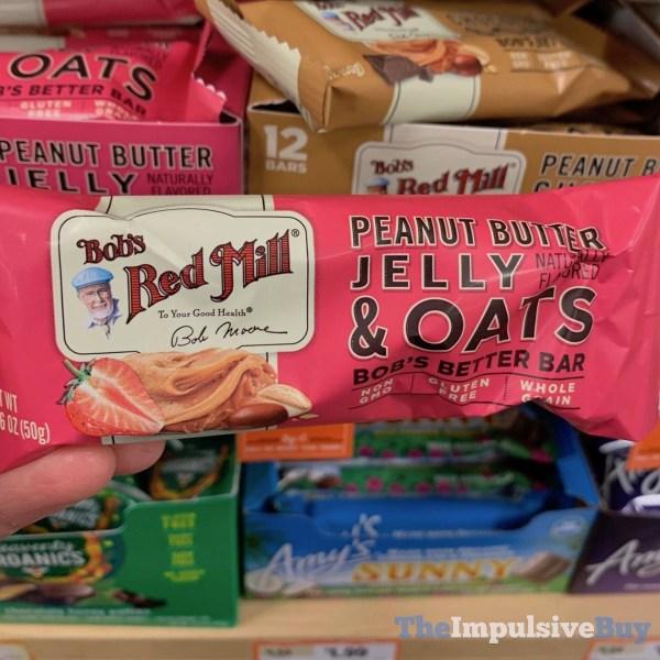 Bob s Red Mill Peanut Butter Jelly  Oats Bob s Better Bar